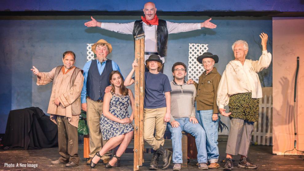 cast photo of Meadville Community Theatre's The Fantasticks